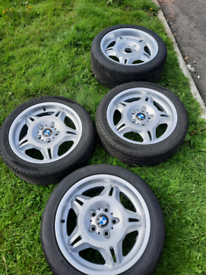 Phase 1 staggered e36 m3 Motorsport alloy wheels