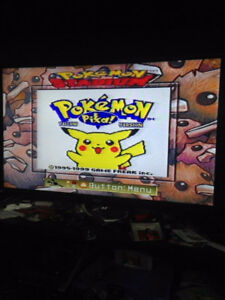 Pokemon Yellow, Blue, Green, Silver and Gold