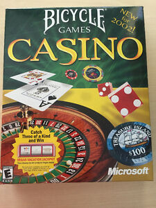 Microsoft Bicycle Games Casino (PC version)