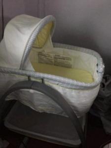 Summary Infant Bentwood bassinet