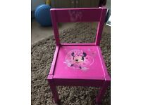 UP CYCLED MINNIE MOUSE CHAIR
