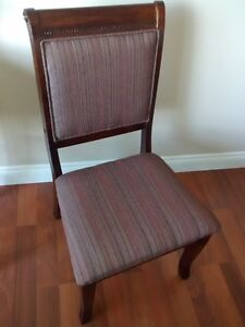 Extremely Comfortable, Solid Upholstered Wooden Chair
