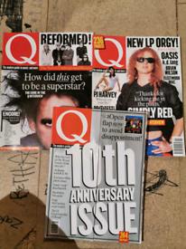 1990s Q magazines