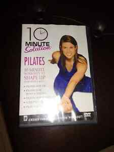 10 minute solution pilates DVD