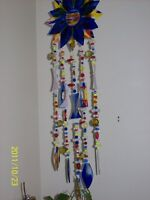 Wind Chimes-stained glass