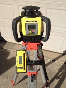 Leica Rugby 680 rotating Laser level