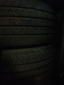 4  Michelin summer tires with the rim