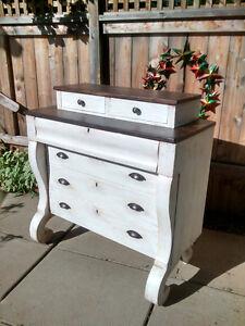 1861 Antique Nova Scotia Dresser