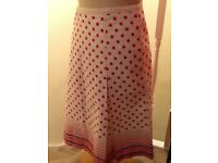 Oasis 100% cotton skirt size 12