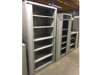 Bisley tambour cabinets