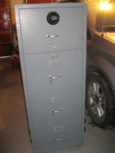 FOR SALE: 4-drawer filing cabinet/fire  safe in great condition
