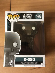 Funko, POP, Star Wars Rogue One, K-2SO, Vinyl Figure