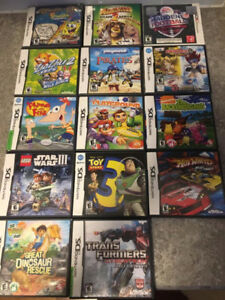 Various DS Games