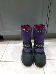 Winter Boots - girls size 4