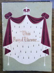 """This Royal Throne"" Booklet (1953)"