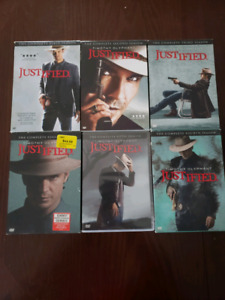 JUSTIFIED DVD COMPLETE BOX SET 1-6