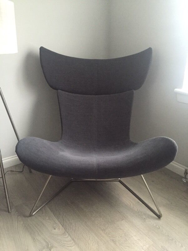 boconcept imola chair charcoal grey in hamilton south. Black Bedroom Furniture Sets. Home Design Ideas