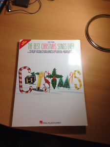 Christmas Book For Musical Instruments With Notes