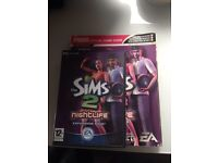 Sims 2 nightlife expansion pack and cheat book