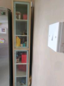 Tall single cupboard