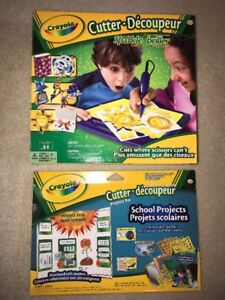 CRAYOLA CUTTER and SCHOOL PROJECTS KIT