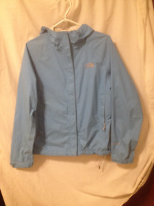 Ladies New Condition Blue North Face 'Hyvent DT' Rain Jacket M
