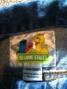 Sesame Street Jean Jacket in St Thomas London Ontario image 6