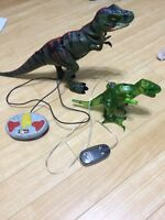 Remote control dinosaurs