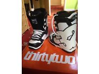 Thirtytwo snowboard boots size 7