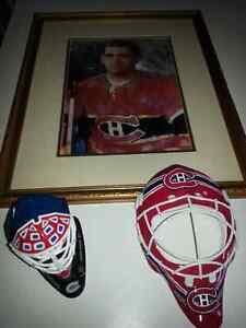 Rocket Richard  & Montreal Canadian Goalie Mask Belleville Belleville Area image 1