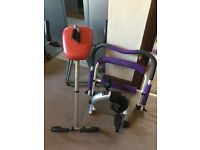 Only £20 Home Gym Exercise Equipment- Abs ExerFlex, Mini Cycler, Sit Up Bench & Skipping Rope