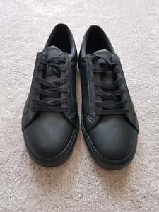 ASOS Lace Up Trainers in Black Size 11