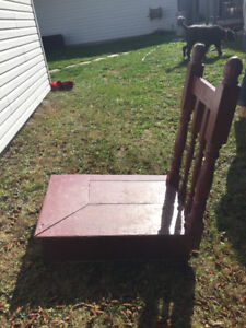 Portable step for home or entry