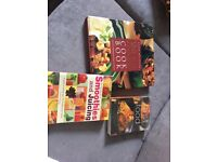 3 cook books - £2 excellent condition