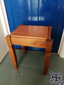 Pine Stool / Side table