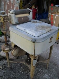 Antique Maytag Square-Tub Washer