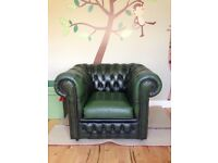 Antique Chesterfield Club Chair