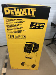 Brand New Dewalt Air Compressor