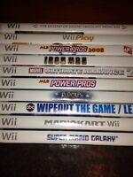 Nintendo Wii games, wiimote, accessories
