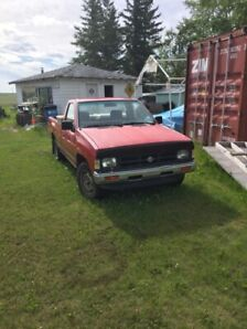 91 Nissan 2wd pick up truck