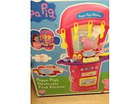 Peppa Pig First Electronic Toy Kitchen