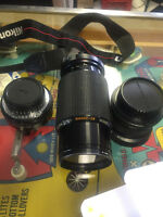 Lot of 3 Nikon Bayonet Mount Lens'