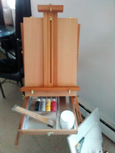 travel easel for sale