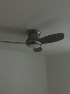 """CEILING FAN WITH LIGHT & REMOTE CTRL--MINKA AIRE CONCEPT II 44"""""""