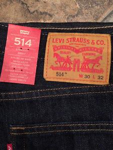 LEVIS Red Tab Jeans 514 W30 L32 3 Pair!