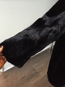 Gorgeous & Warm Black Real Sheared Beaver Car Coat MUST SELL! London Ontario image 8