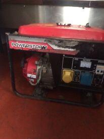 Honda generator power storm 3000