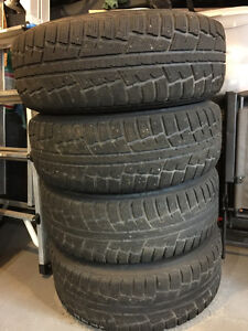 4 Sale - 4 Used Winter Tires 265/70R17 St. John's Newfoundland image 1