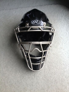 Rawlings Coolflo HLCH1 Adult Catchers Mask – Black – Like new.