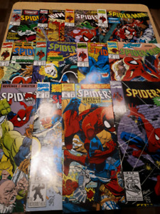 Spider-man serie 90' vol 1 lot de 19 comics